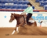 Superstakes Jr Reining Champion - Tori Meggison
