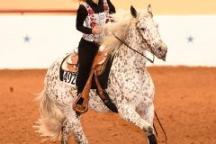 Peppers Sassy Spots/Maggie Holzworth_ApRHA Superstakes Novice Non-Pro Reining Champion