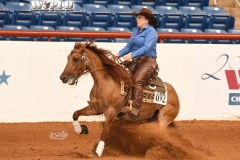 Sudden Sign/Amber Morgan_ApRHA Futurity High Scoring Non-Pro