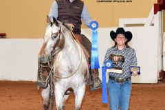 Travis Rempel, Champion Senior Reining