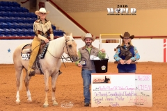 Jane Cairo/L4 Non-Pro Derby 4-year-old Incentive Champion