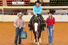 Leslie Temple/Open Ranch Riding Futurity Champion