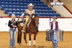 Jane Cairo/Non-Pro Reining Champion