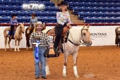 Jane Cairo/Masters Non-Pro Reining Champion